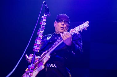 Rick Nielsen of Cheap Trick performs as Jason Bonham's Led Zepplin Experience, Cheap Trick and Foreigner performed at the Giant Center in Hershey as part of Foreigner's 40th anniversary tour.