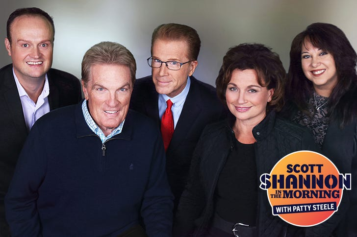 Scott Shannon in the Morning with Patty Steele - WCBS-FM