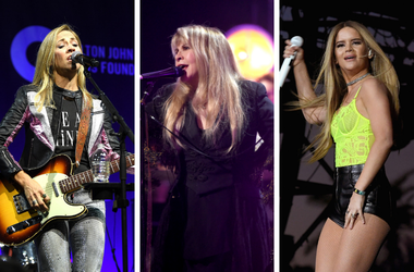Sheryl Crow, Stevie Nicks, Maren Morris