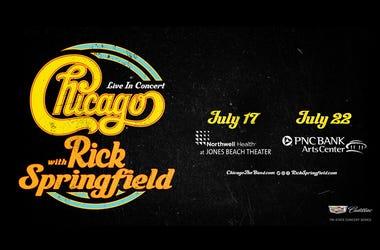 Chicago + Rick Springfield