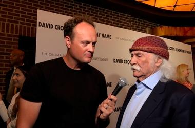 David Crosby and Brad Blanks