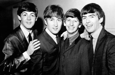 Paul McCartney, John Lennon, Ringo Starr and George Harrison