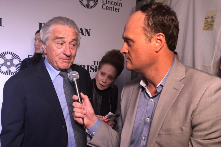 Robert De Niro and Brad Blanks
