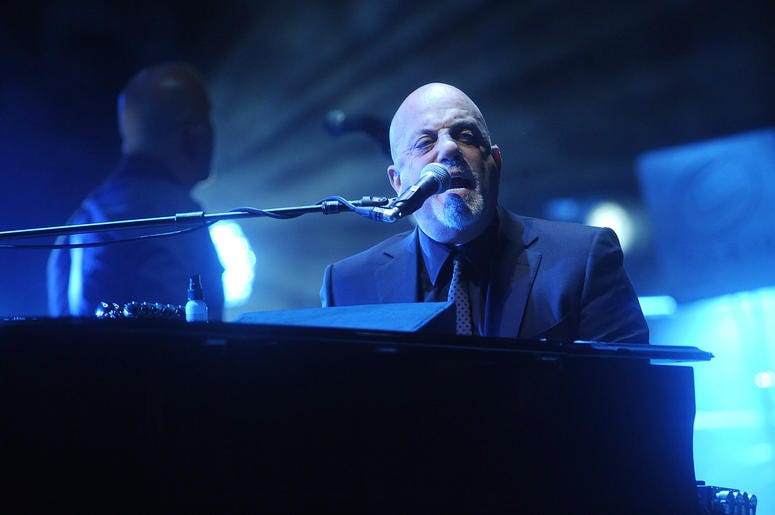 Billy Joel Playing Piano