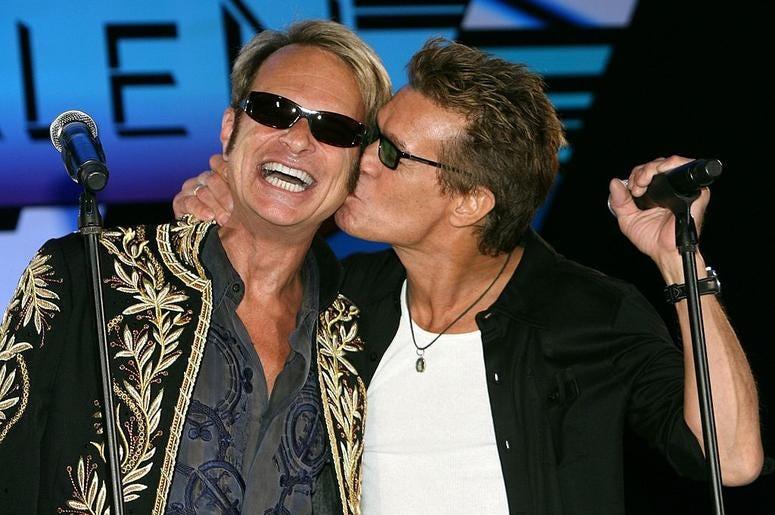 David Lee Roth and Van Halen