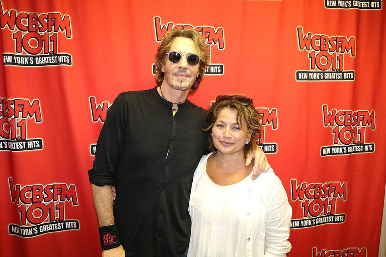 Rick Springfield Meets Fans at WCBS-FM's 'Saturday in the Park' 2019