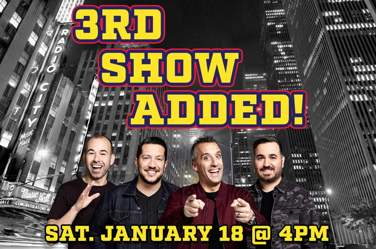 Impractical Jokers 3rd show