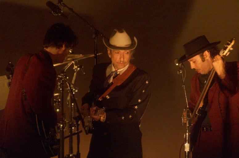 Bob Dylan in 2002