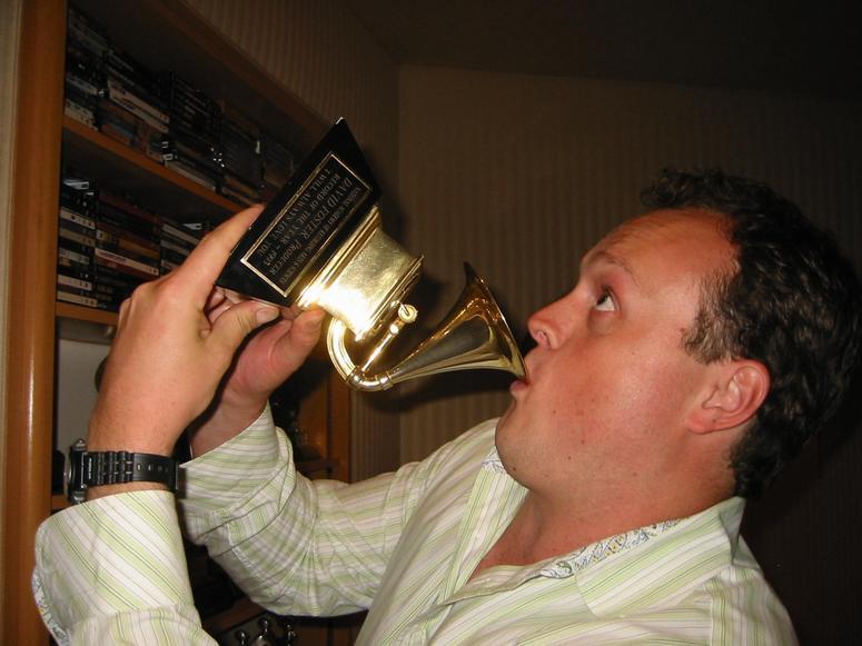 Brad Blanks GRAMMY Trophy