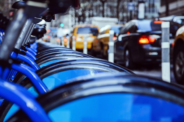 Rental bikes in NYC