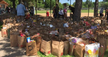 Sanford donations bags