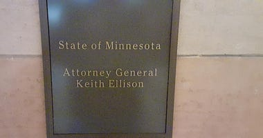 Keith Ellison name plate