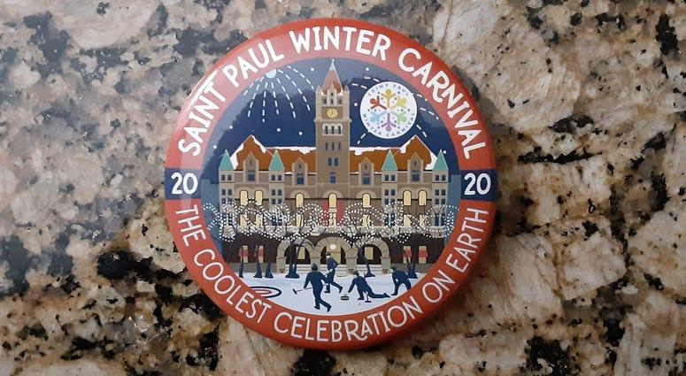 2020 Winter Carnival Button