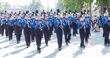 The Robbinsdale Armstrong High School band