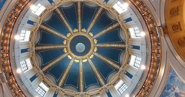 Minnesota capitol dome inside