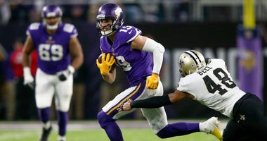 Adam Thielen, New Orleans Saints