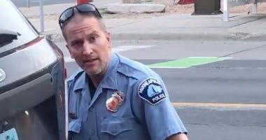 officer Derek Chauvin allegedly voted illegally in Florida