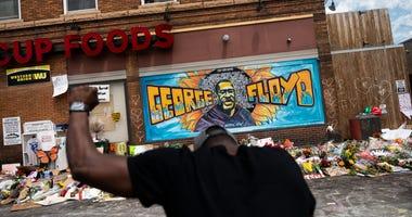 George Floyd Memorial Site, South Minneapolis