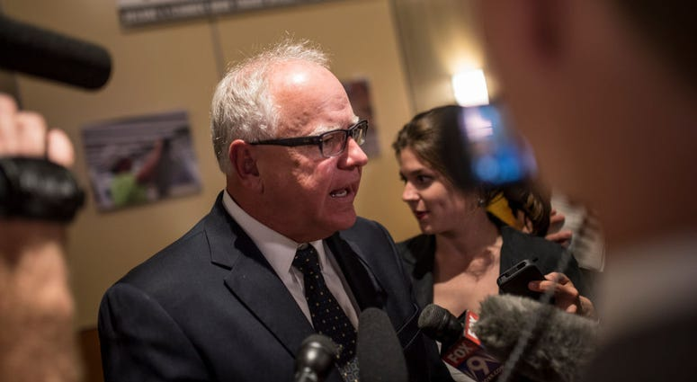 DFL candidate for Governor Rep. Tim Walz (D-MN