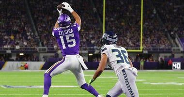 Brandon Zylstra makes the catch