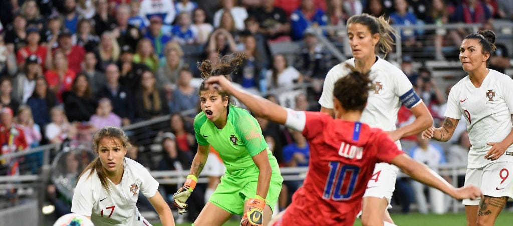 Carli Lloyd on post game reporter: 'He should know better'