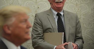 John Bolton talks to WCCO