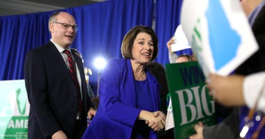 Klobuchar says husband has been released from hospital