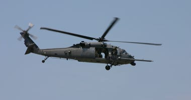 MN National Guard loses contact with helicopter