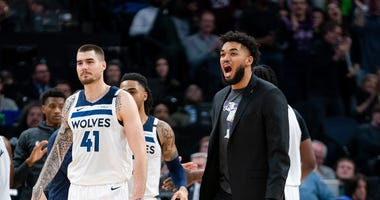 Karl-Anthony Towns, Injury