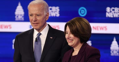 Klobuchar and Biden