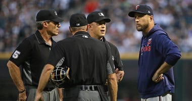 MLB Umpires, Twins, Rocco Baldelli