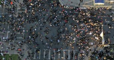 Overhead Protest