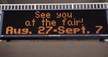 MN State Fair digital sign 2020