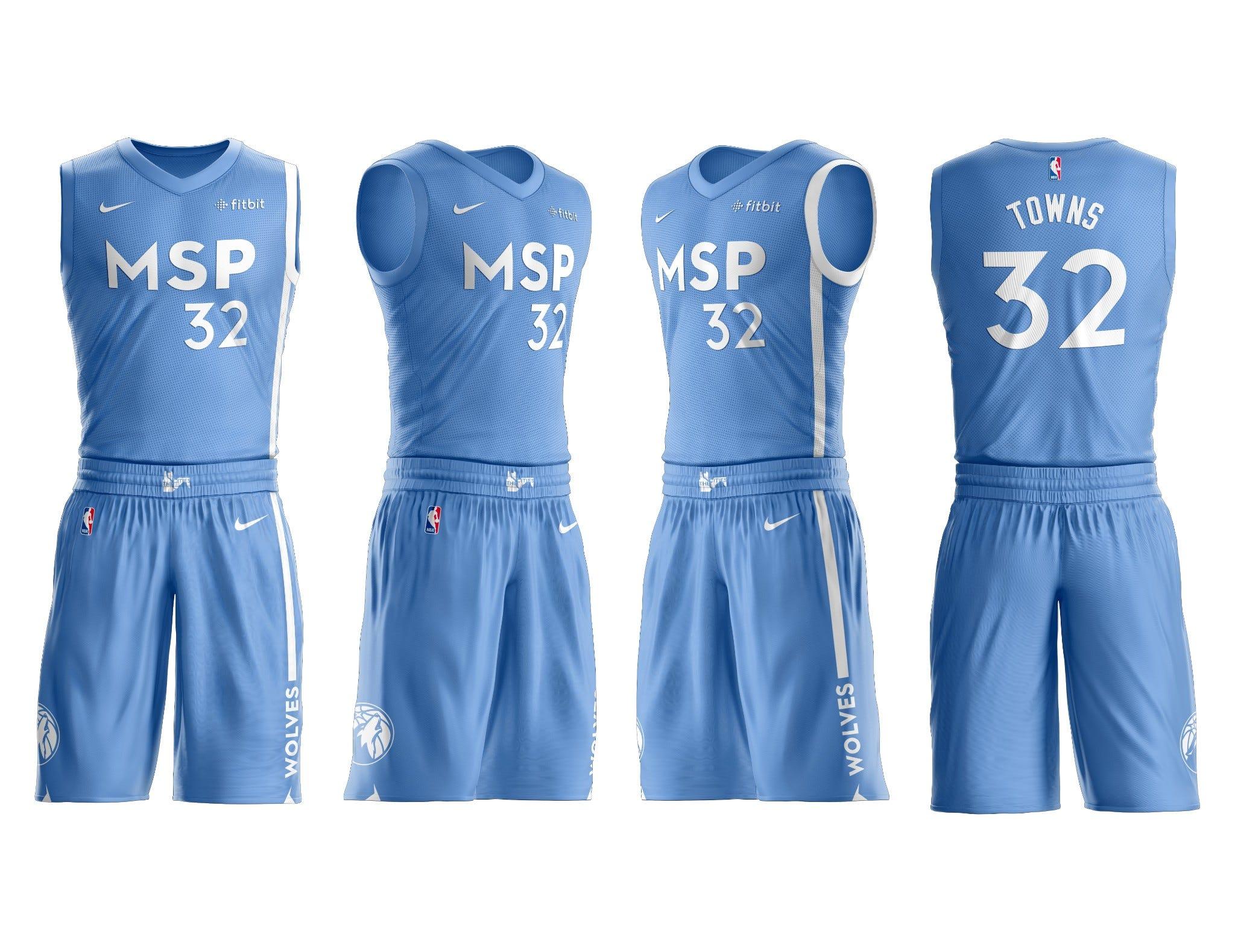 minnesota timberwolves uniforms