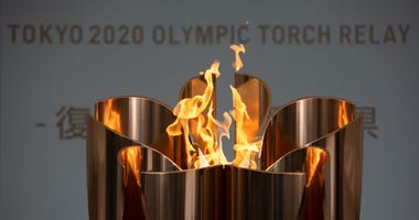 Tokyo Olympic Flame