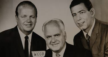 Twins Broadcast Team (early photo from 60's)