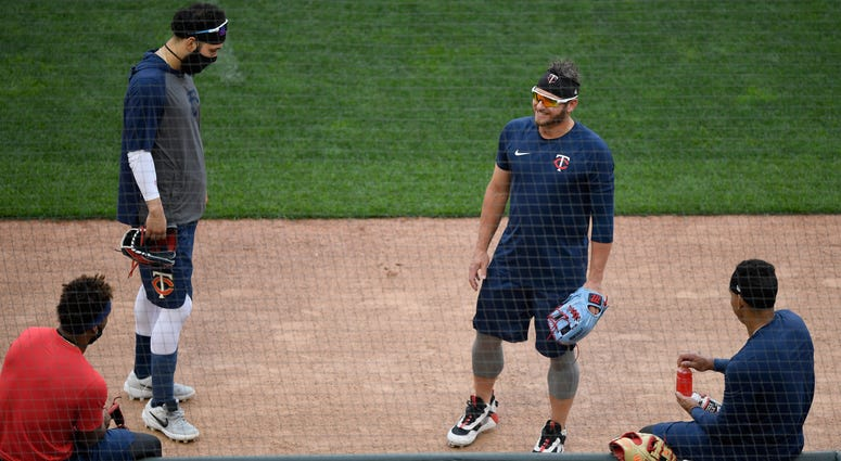 Twins, Coronavirus Workouts, Target Field