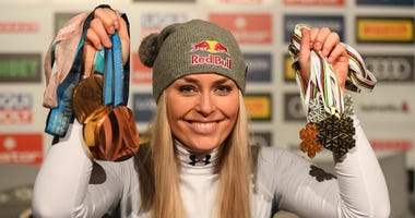 More medals for Lindsey Vonn