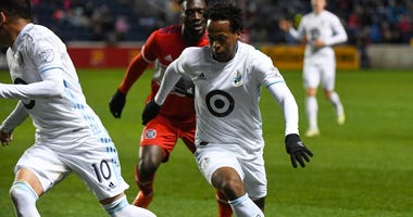 Romario Ibarra in control for Minnesota United