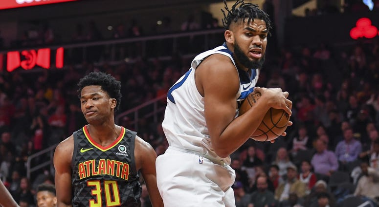 Another rebound for Karl-Anthony Towns