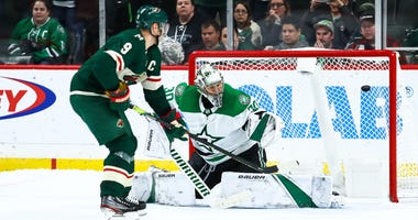 Mikko Koivu beats Ben Bishop for game-winner