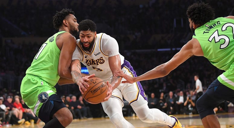 The Wolves cannot stop Anthony Davis