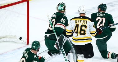 Another goal by Boston against the Wild