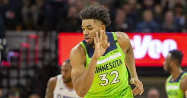 Karl-Anthony Towns says things are better