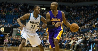 Kobe Bryant facing Timberwolves