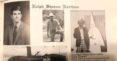 Racist photo from Northam yearbook