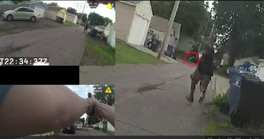 Body cam video of Blevins shooting
