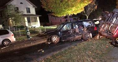 Car collision in Minneapolis