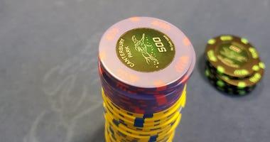 Canterbury Park Poker Chips