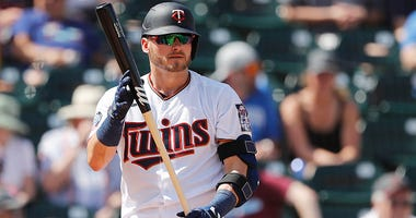 Josh Donaldson steps up to the plate for the Twins.